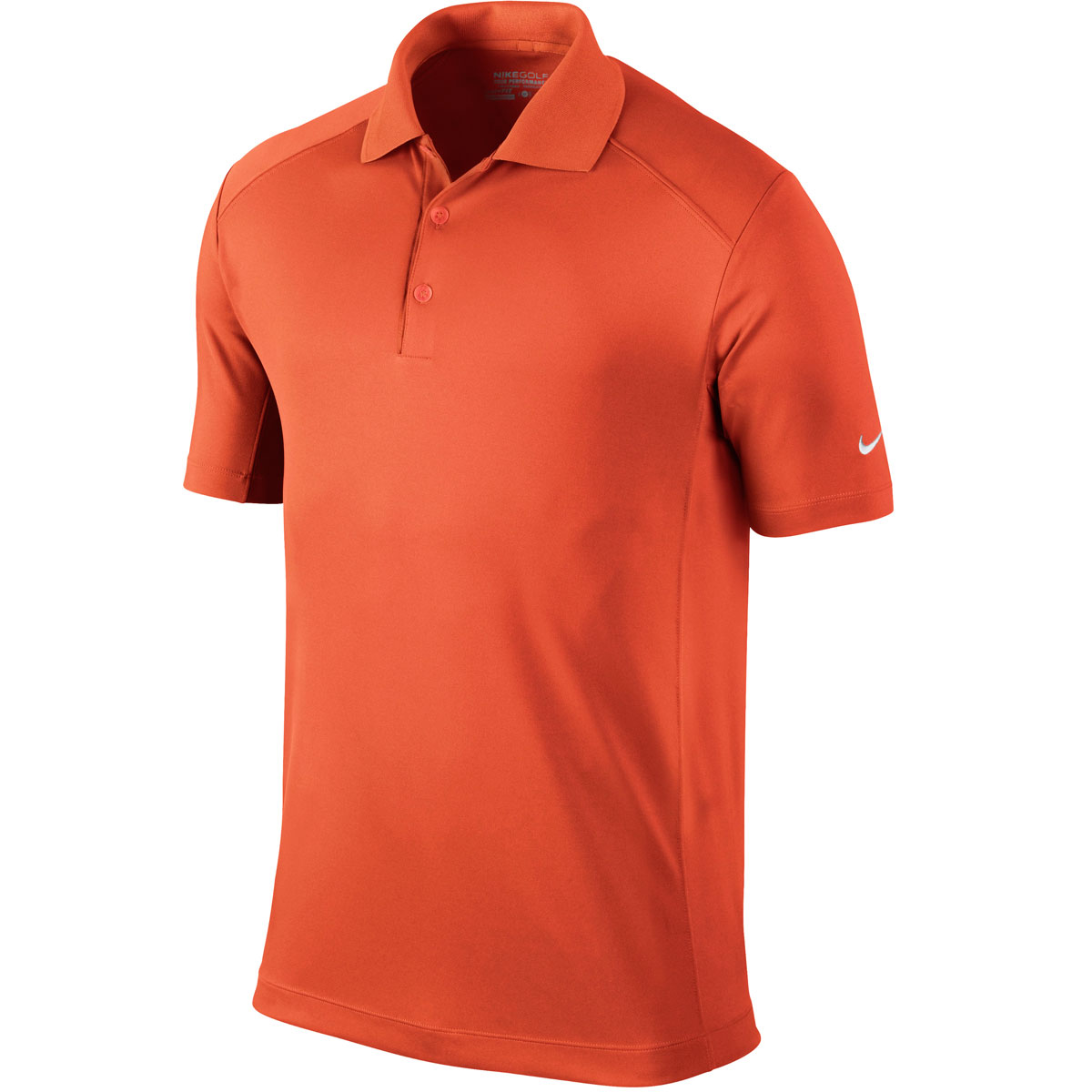 Nike golf 2014 mens dri fit victory left sleeve logo polo for Dri fit polo shirts for boys
