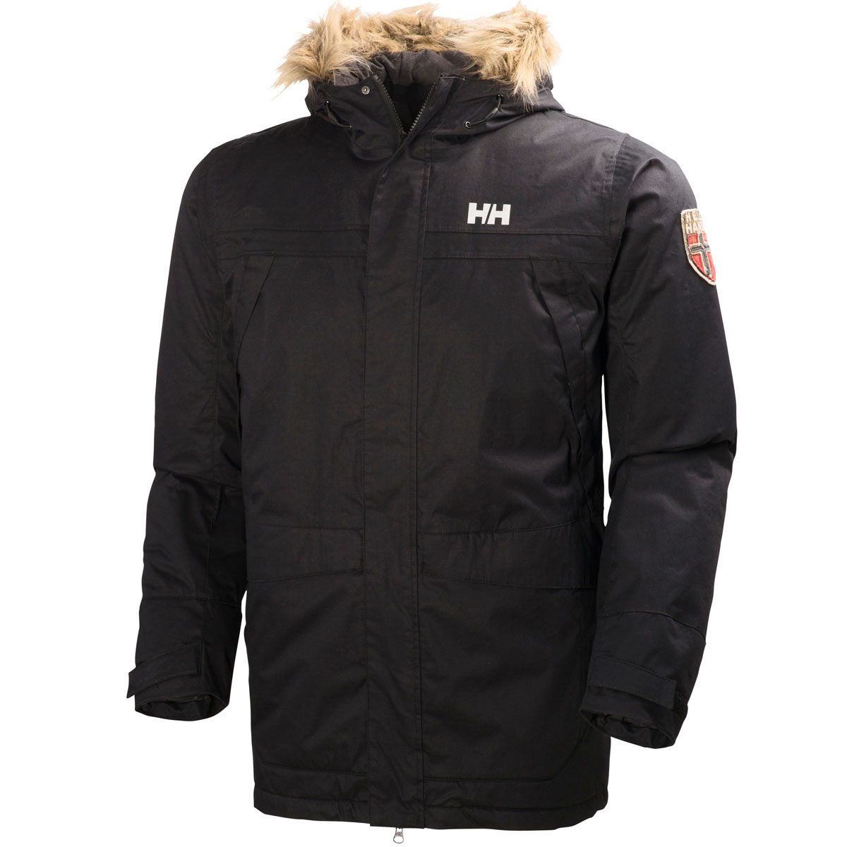 34 off rrp helly hansen mens coastline parka insulated jacket winter coat ebay. Black Bedroom Furniture Sets. Home Design Ideas