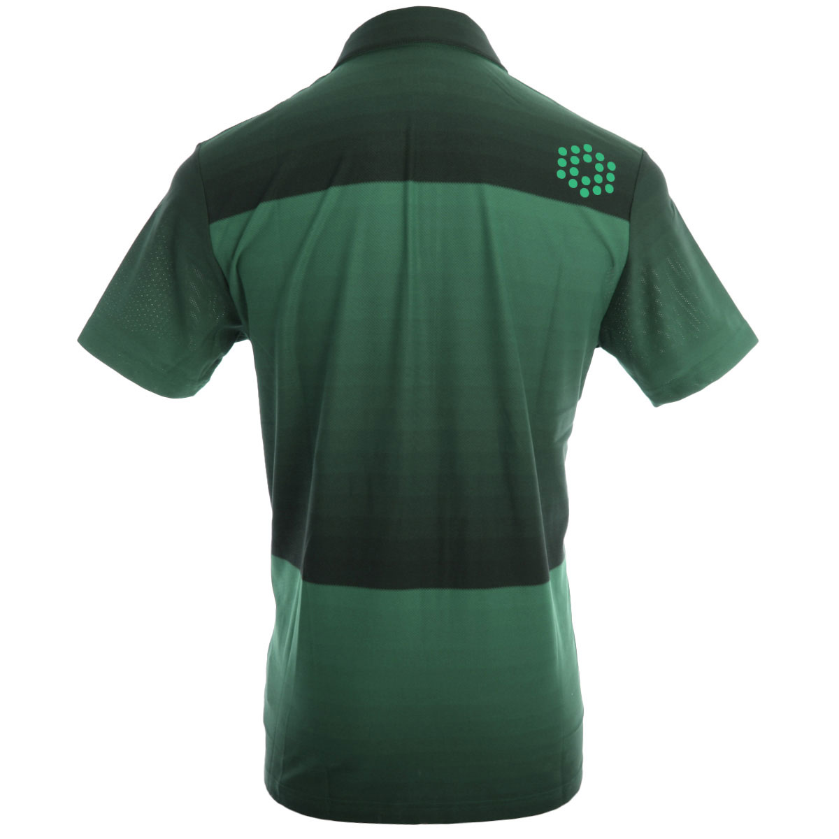 Puma golf 2014 mens ombre stripe polo shirt ebay for Mens puma golf shirts