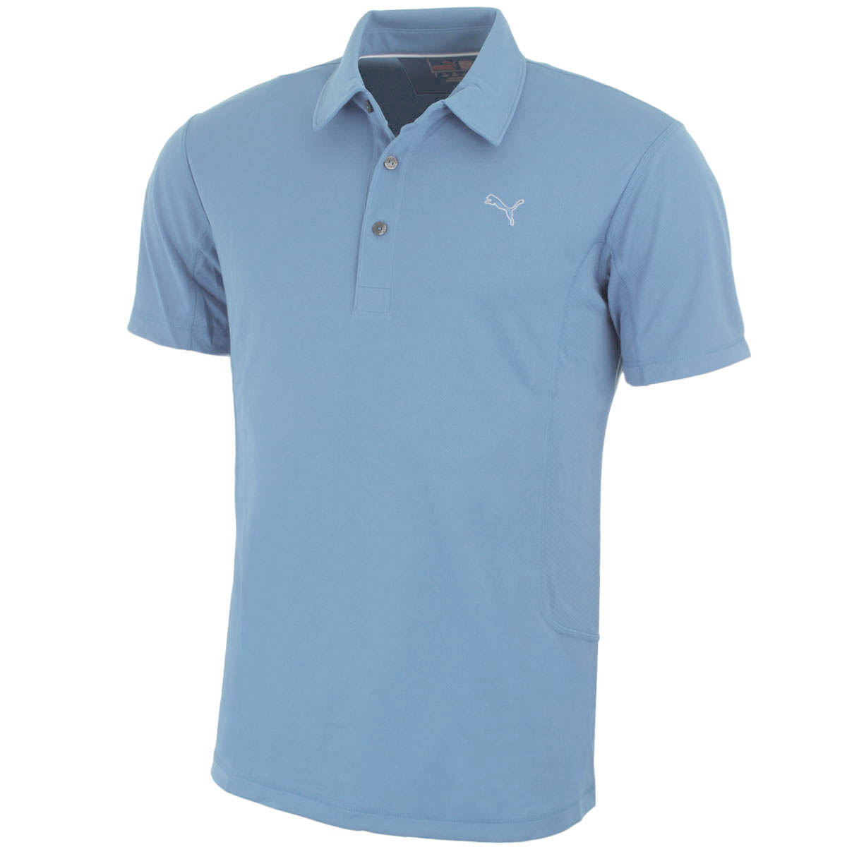Puma golf mens tech golf polo shirt 568242 performance for Mens golf polo shirts
