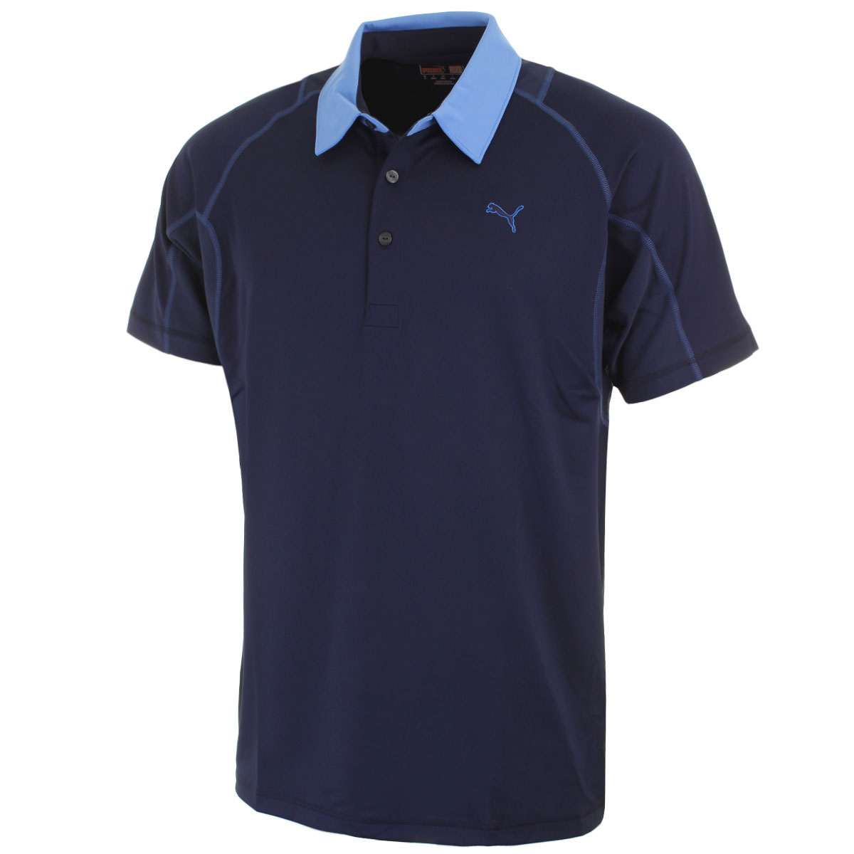 46 off rrp puma golf mens titan tour golf polo shirt for Mens golf polo shirts