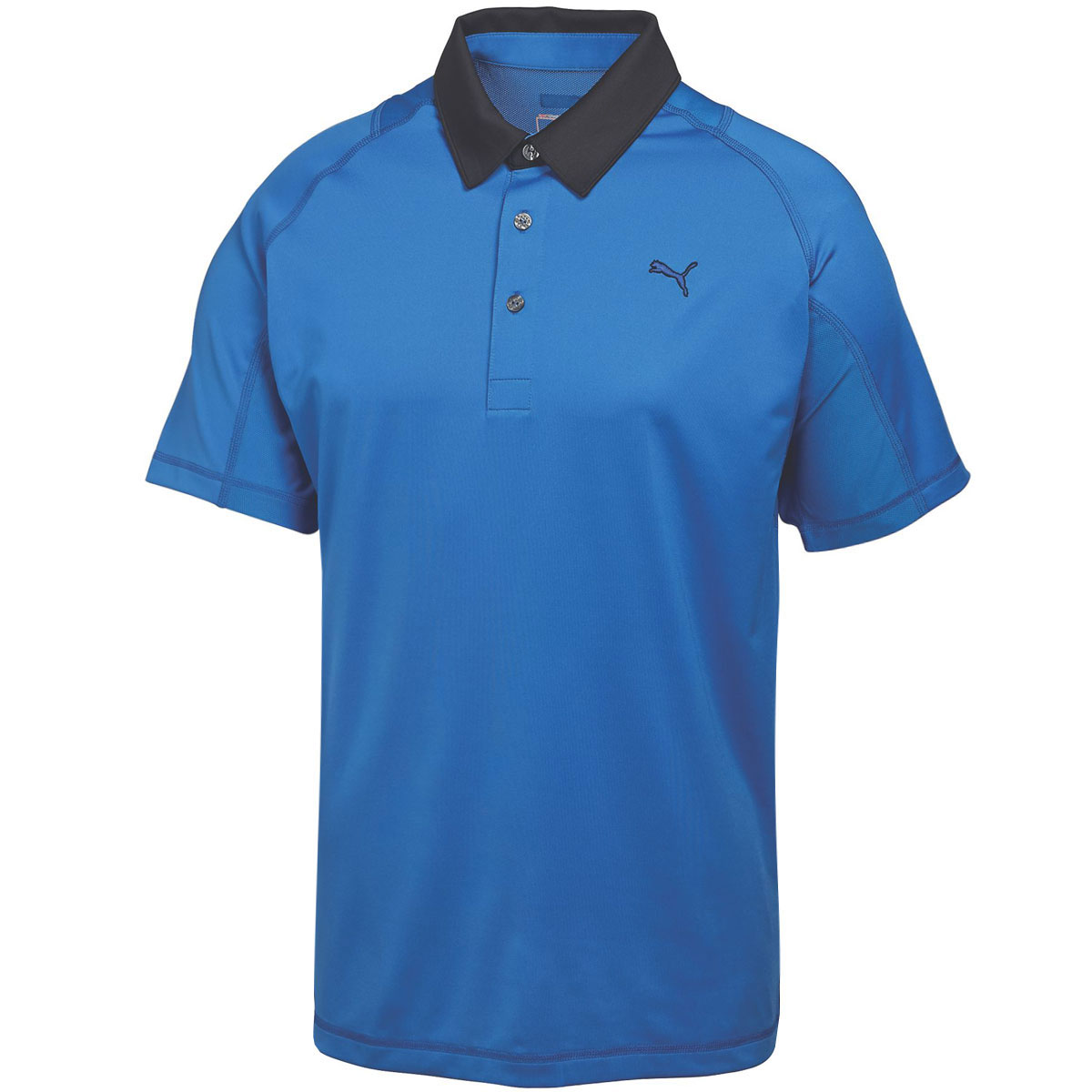 Puma golf mens titan tour golf polo shirt 568252 coolcell for Mens puma golf shirts