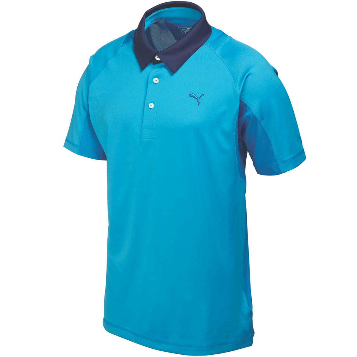 Puma golf mens titan tour golf polo shirt 568252 coolcell for Mens golf polo shirts