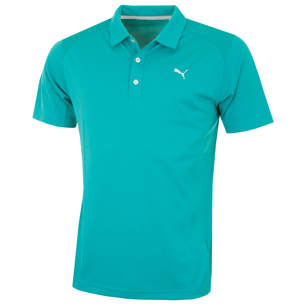 Puma golf ss 2016 mens essential pounce polo shirt 570462 for Mens puma golf shirts