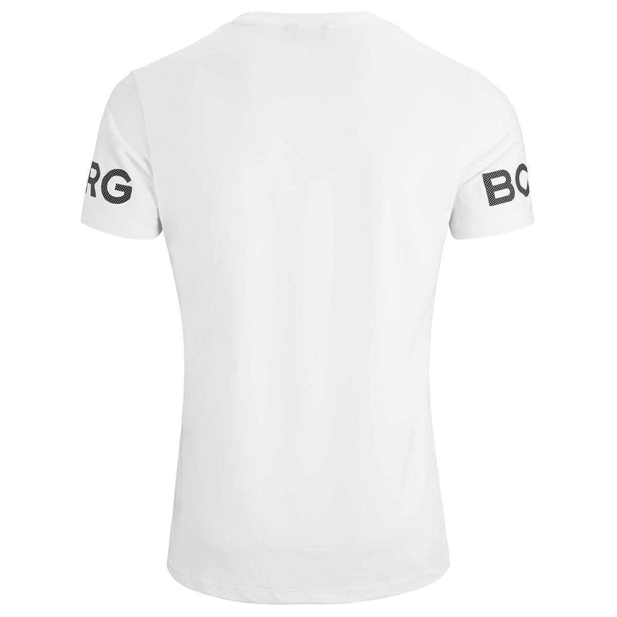 Bjorn Borg Mens 2019 Borg Tee Training Dyed Borg Print T-Shirt 29/% OFF RRP