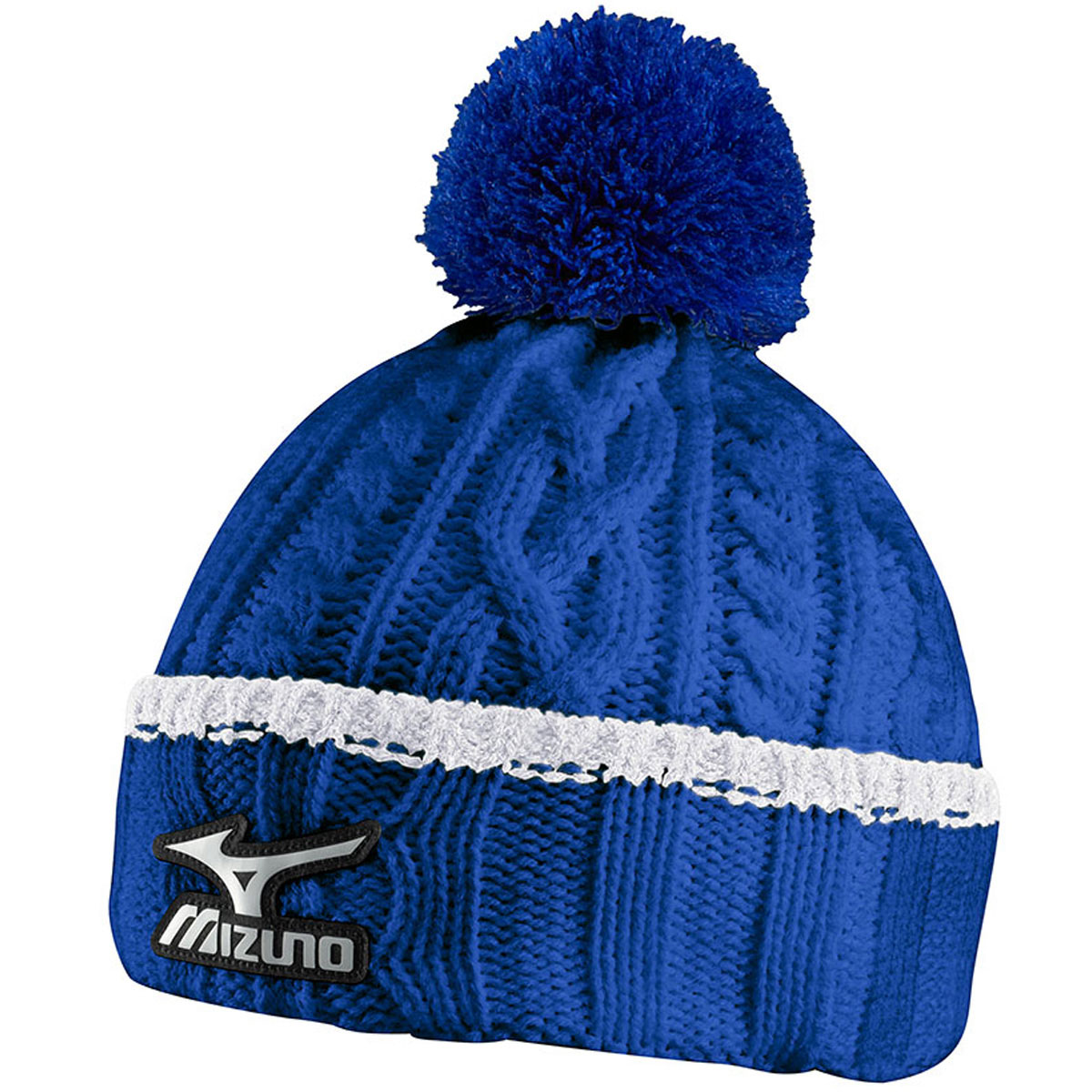 Mizuno Golf 2015 Mens Cable Knit Bobble Pom Pom Knitted ...