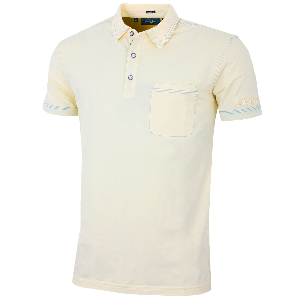 60 off rrp bobby jones 2016 mens jeffery solid with for Two pocket polo shirt