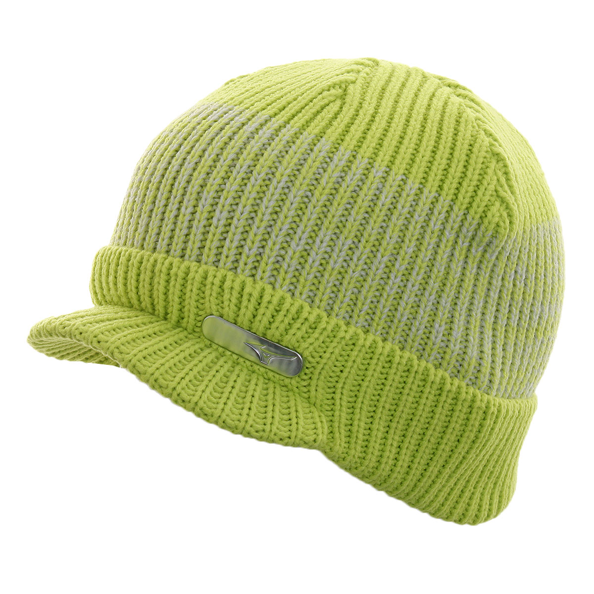 Knitting Pattern For Peaked Beanie : Mizuno Golf 2016 Mens Peaked Beanie Winter Wooly Hat Cap