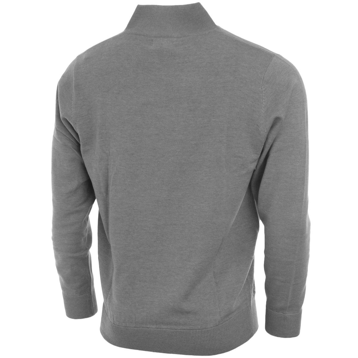 calvin klein golf mens ck heather half zip sweater classic pullover jumper ebay. Black Bedroom Furniture Sets. Home Design Ideas