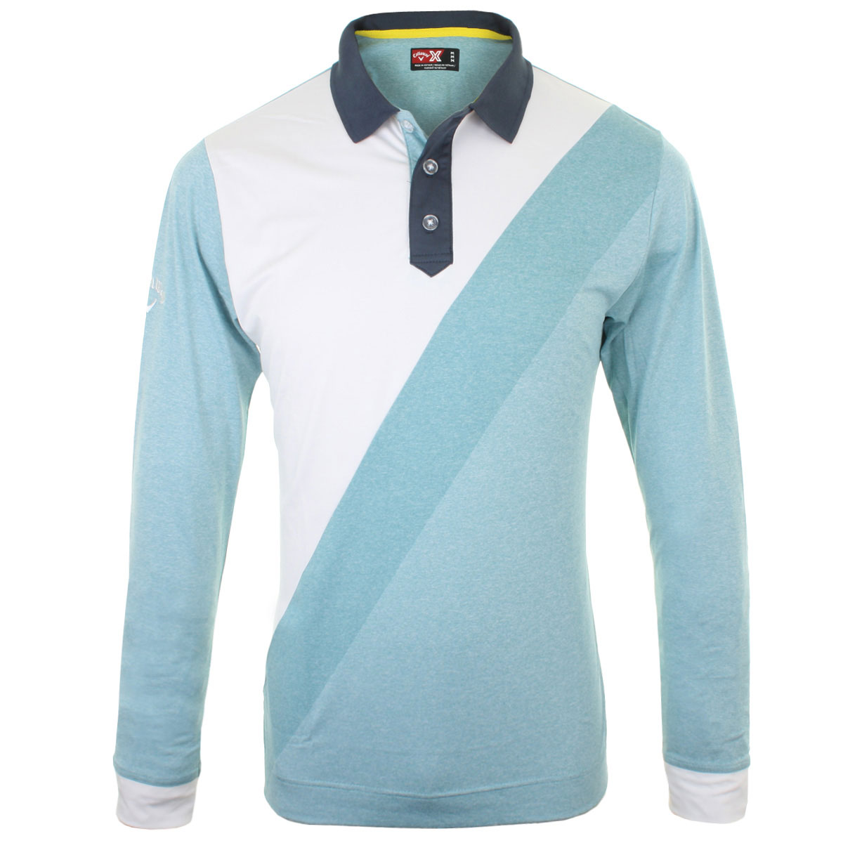 67 off rrp callaway golf mens rugby inspired long sleeve for Long sleeve polo golf shirts