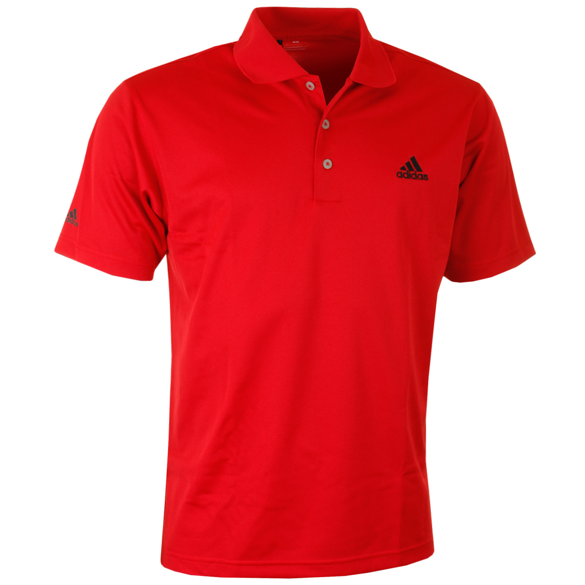Adidas golf mens climalite basic performance tour logo for Mens golf polo shirts