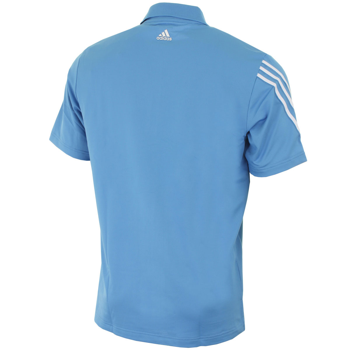 Adidas golf mens climacool 3 stripes polo shirt short for Mens golf polo shirts