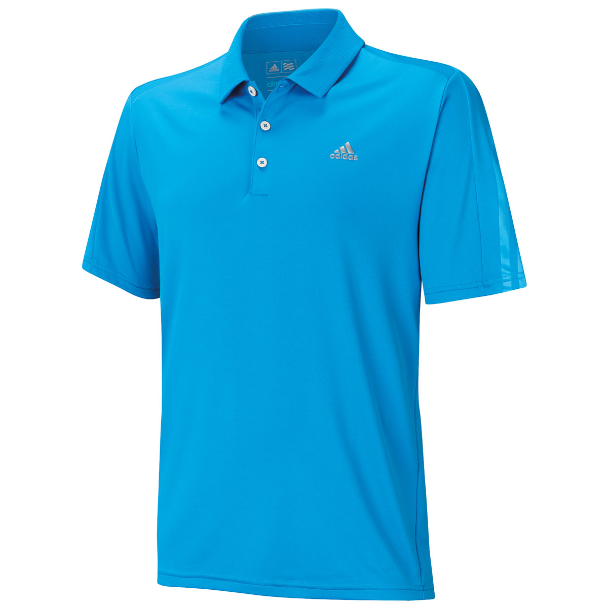35 off rrp adidas golf mens climacool deboss 3 stripes for Corporate logo golf shirts