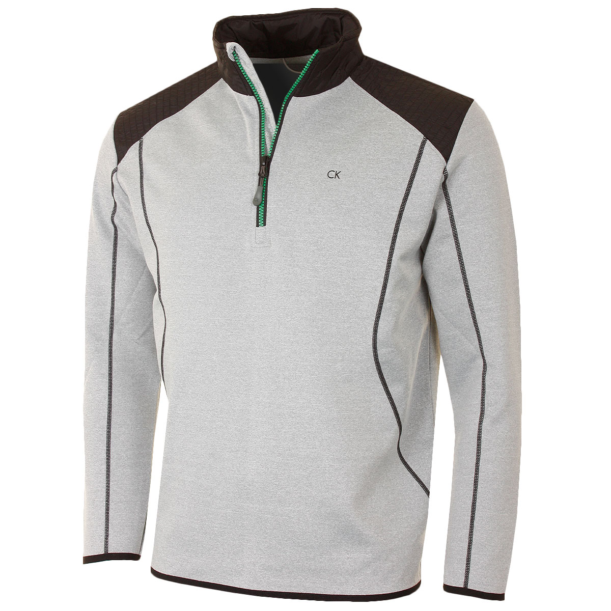 calvin klein golf 2016 mens fuel tech half zip performance tech pullover. Black Bedroom Furniture Sets. Home Design Ideas
