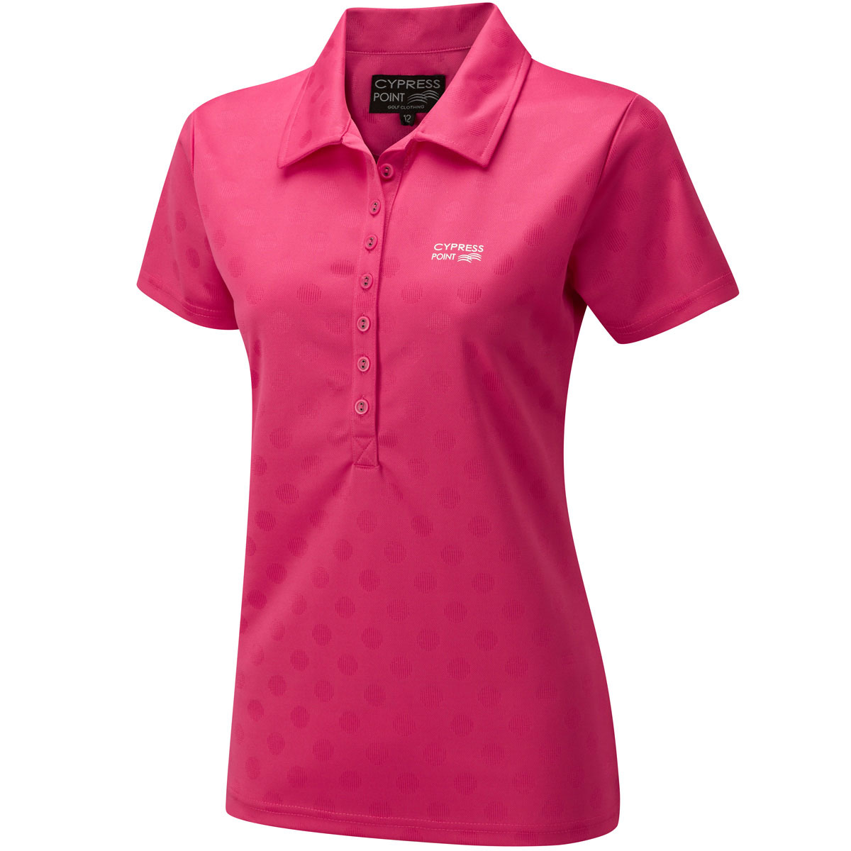 cypress point 2014 ladies cplts430 spot golf polo shirt ebay