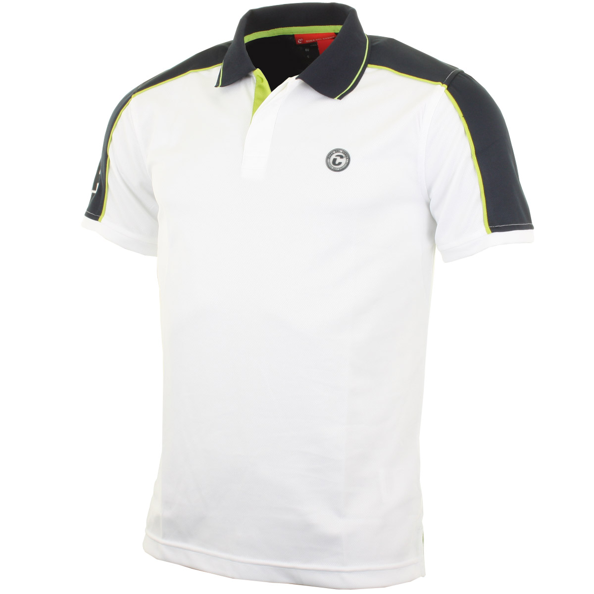 Duca Del Cosma Mens Italian Design Golf Polo Shirt