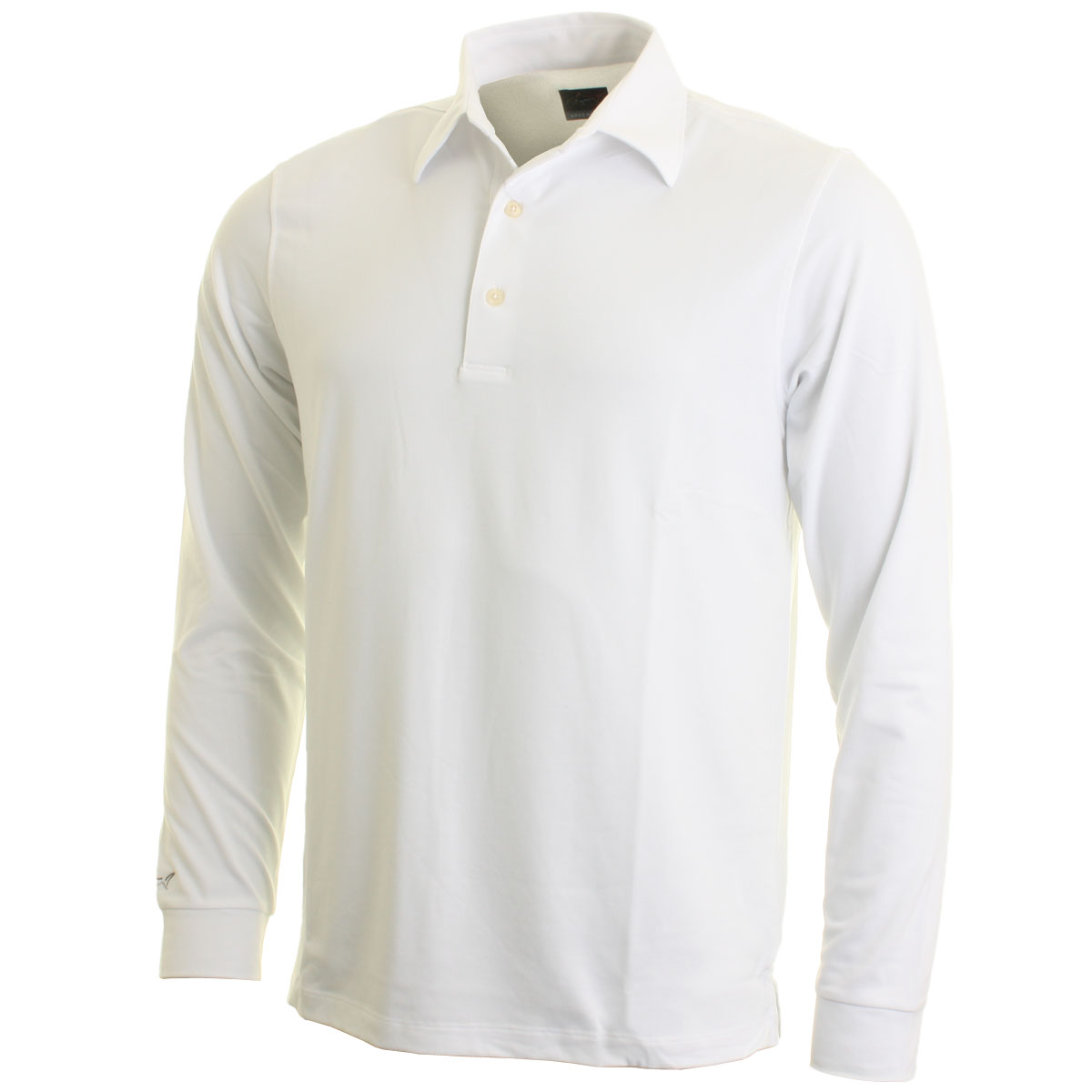 60 off rrp greg norman mens long sleeve golf polo shirt for Longer length mens polo shirts