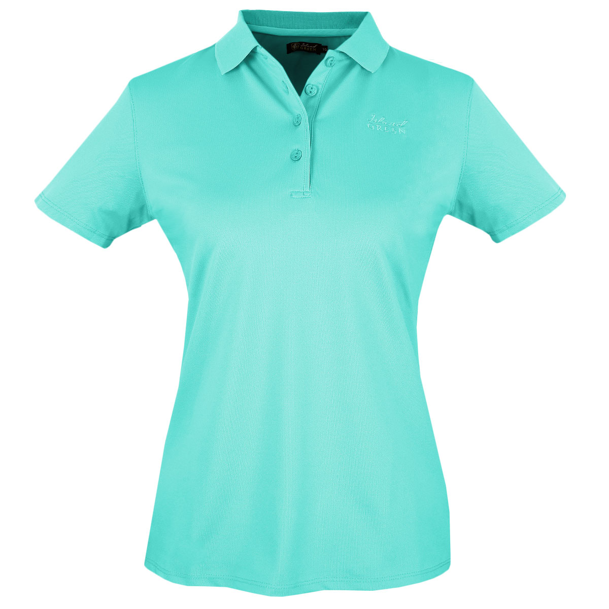30 off rrp island green 2017 ladies plain golf polo shirt for Golf polo shirts for women