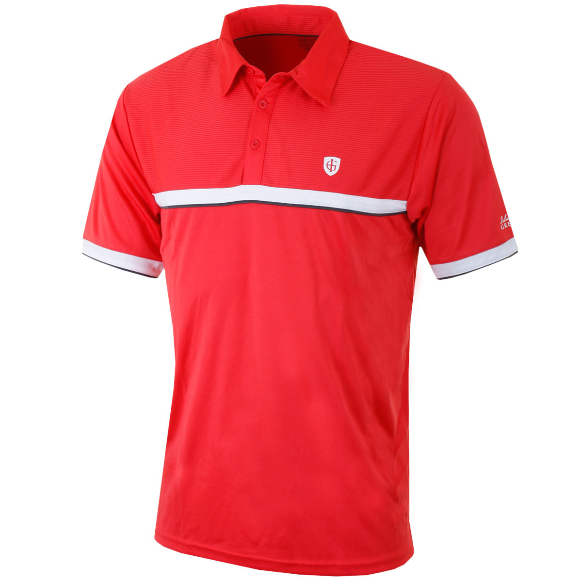 Island green 2016 mens igts1457 performance cool pass tech for Cool mens polo shirts
