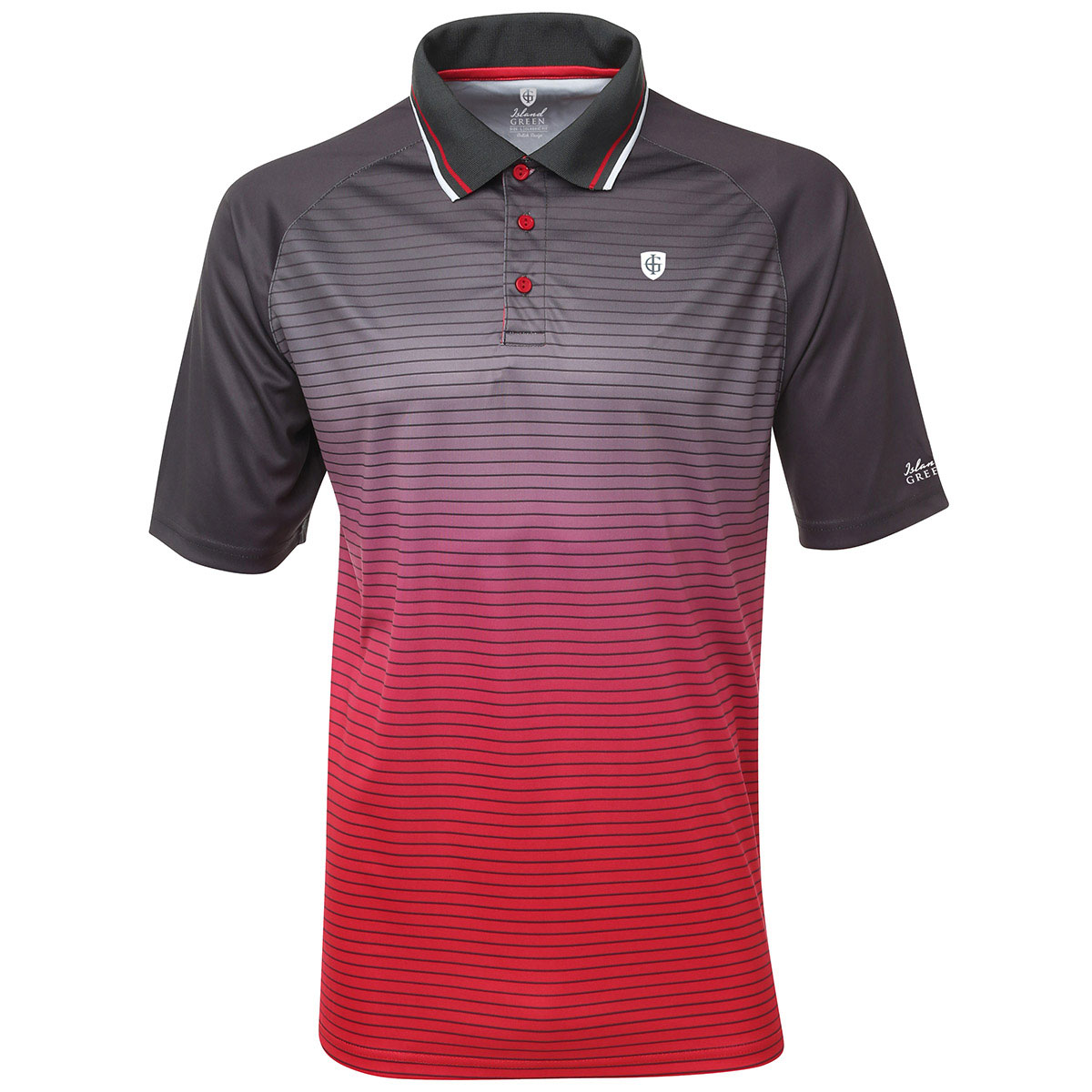 48 off rrp island green 2016 mens igts1464 performance for Polo golf shirts for men