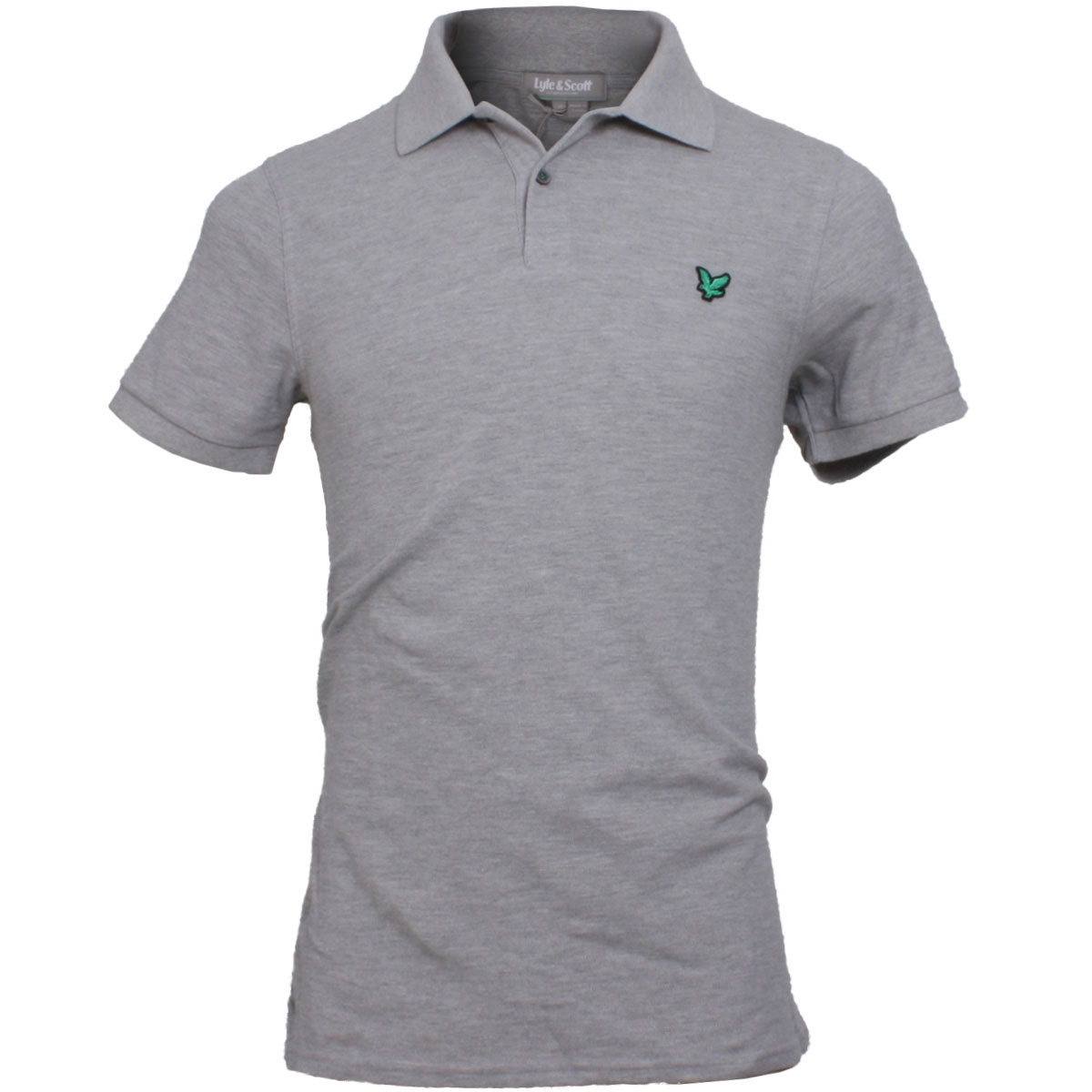 lyle scott mens green eagle kb675 club cotton golf polo shirt ebay. Black Bedroom Furniture Sets. Home Design Ideas