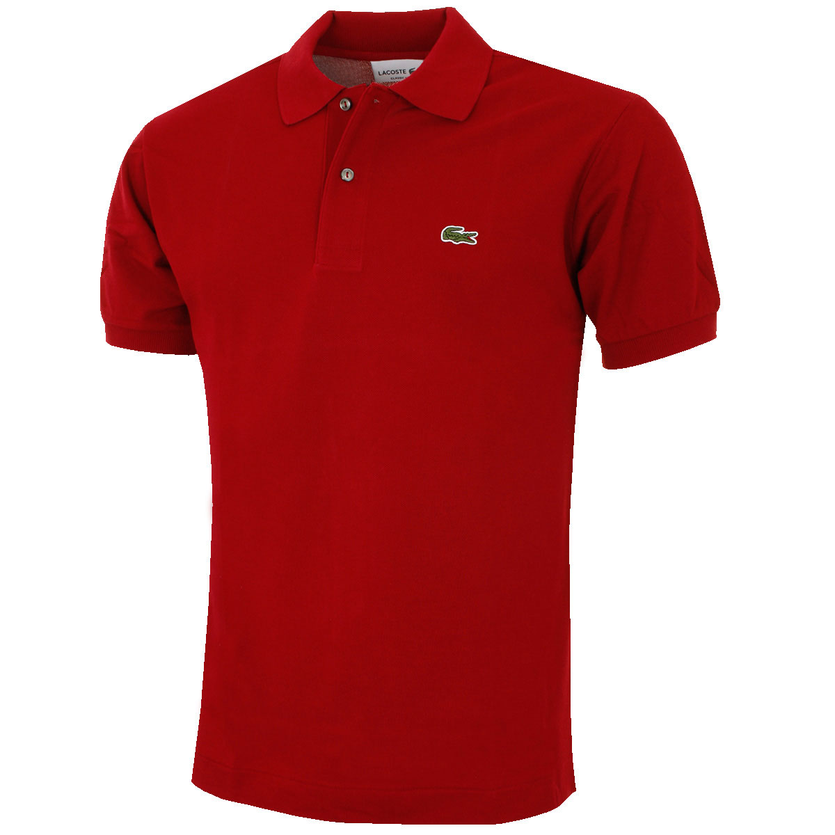 Lacoste 2017 mens classic cotton l1212 short sleeve polo shirt various colours ebay - Lacoste poloshirt weiay ...