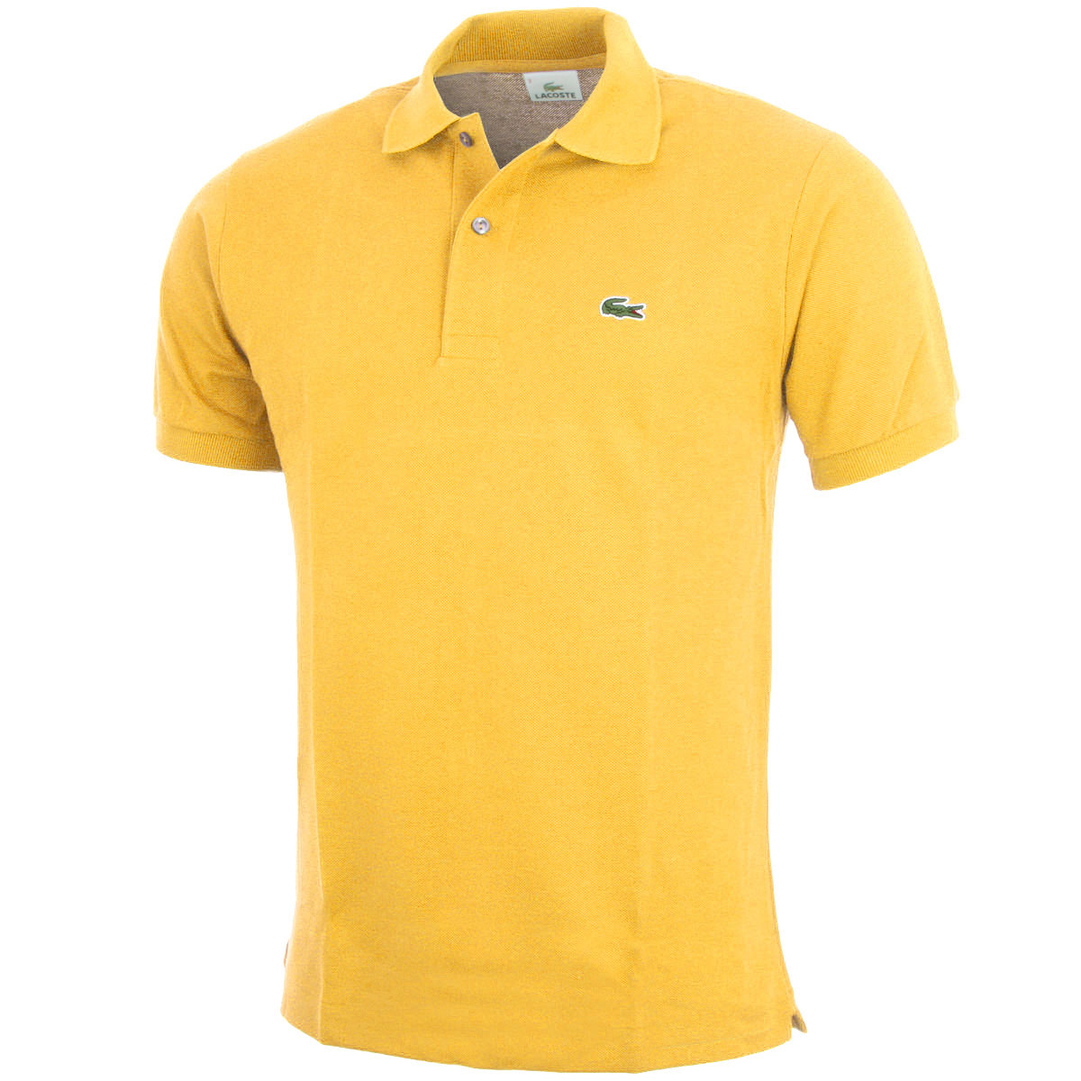 27 off rrp lacoste mens classic cotton l1212 short sleeve for Lacoste polo shirts ebay