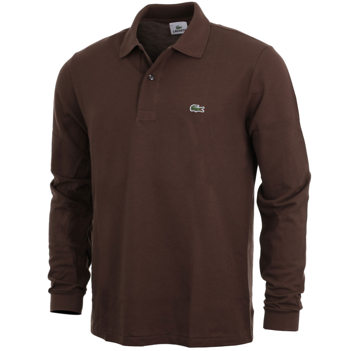 Lacoste 2017 mens classic cotton long sleeve l1312 polo for Lacoste polo shirts ebay