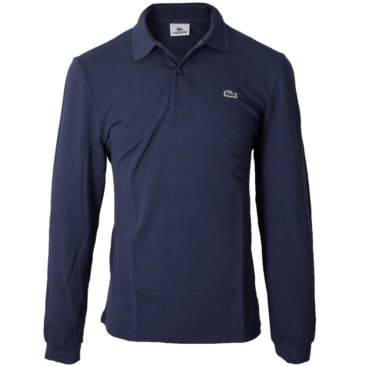 Lacoste 2017 mens classic cotton long sleeve l1312 polo for Lacoste poloshirt weiay