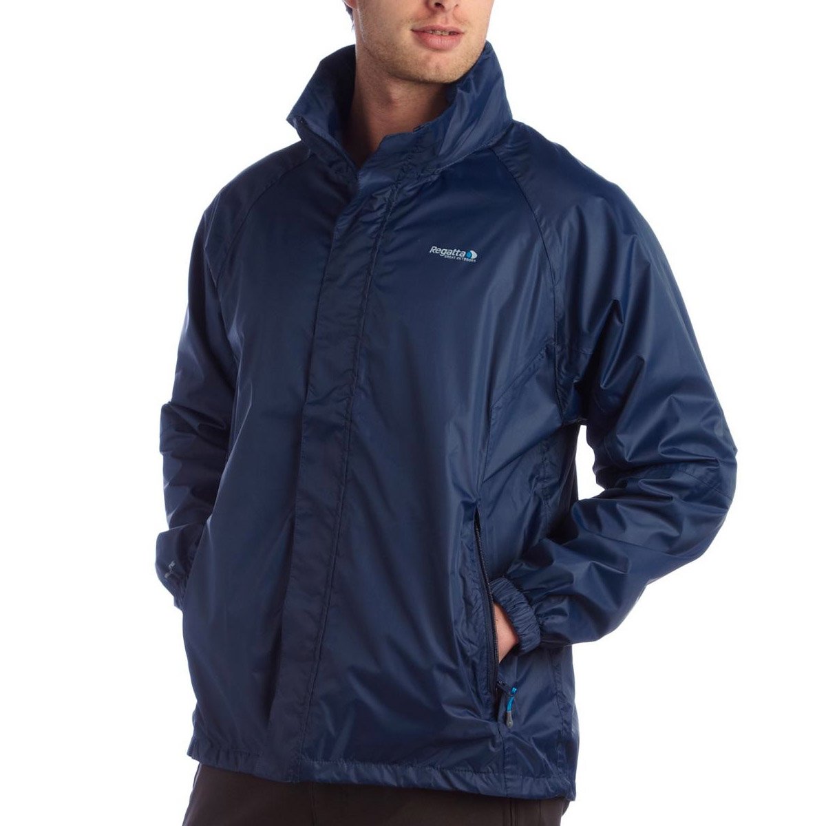 Regatta Mens Magnitude III Packaway Breathable Waterproof Jacket ...