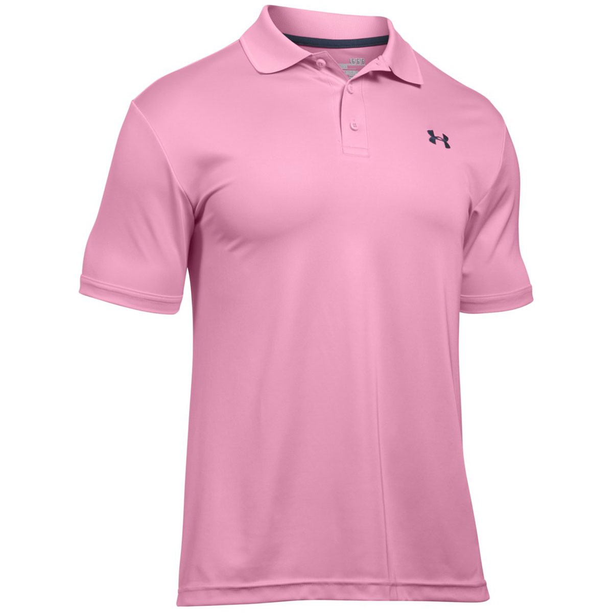 Under armour 2017 mens ua performance tech short sleeve for Mens golf polo shirts