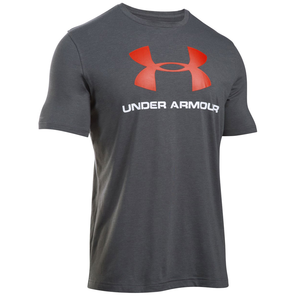 under armour 2017 mens charged cotton sportstyle logo t. Black Bedroom Furniture Sets. Home Design Ideas