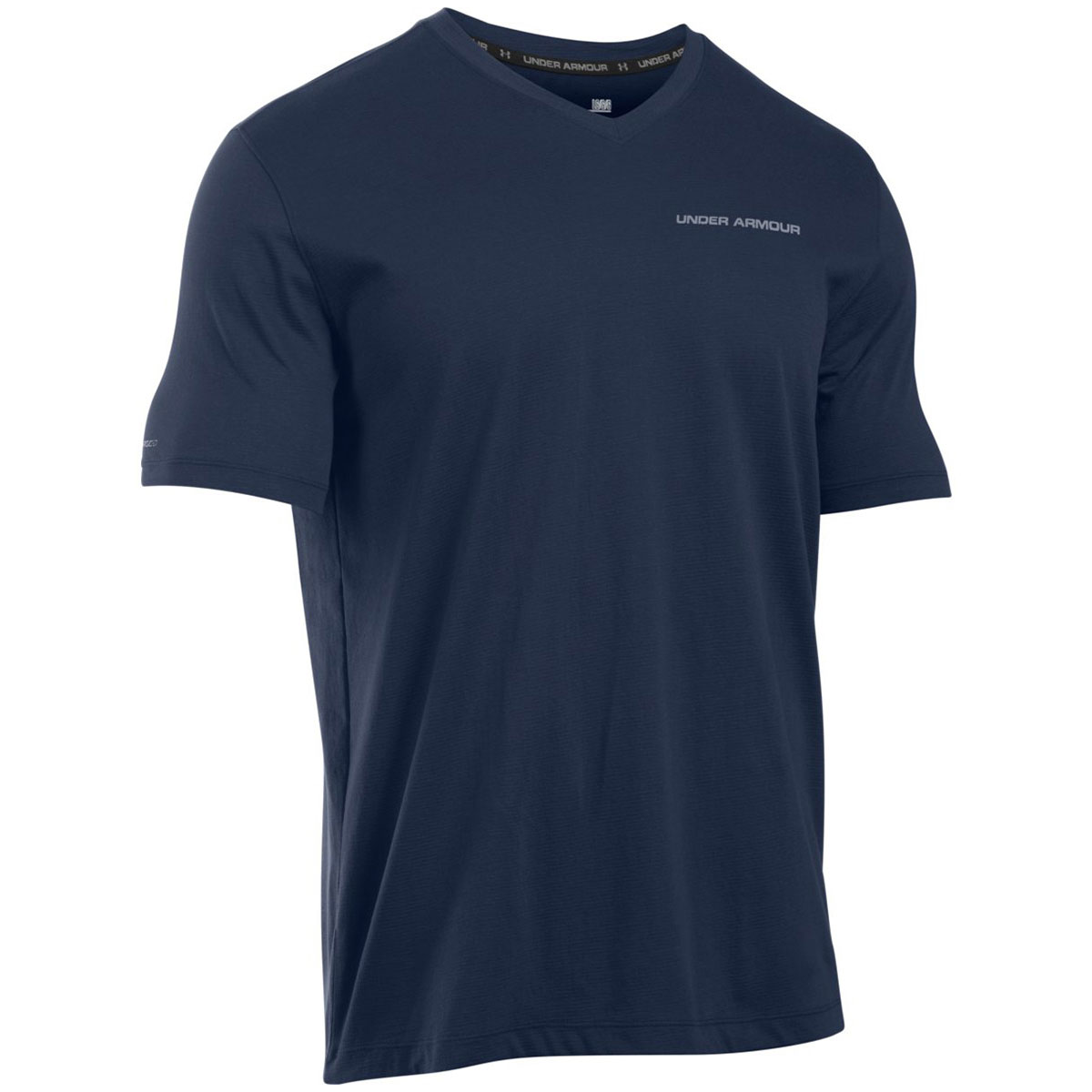 Under Armour Charged Cotton V Neck T Shirt Mens