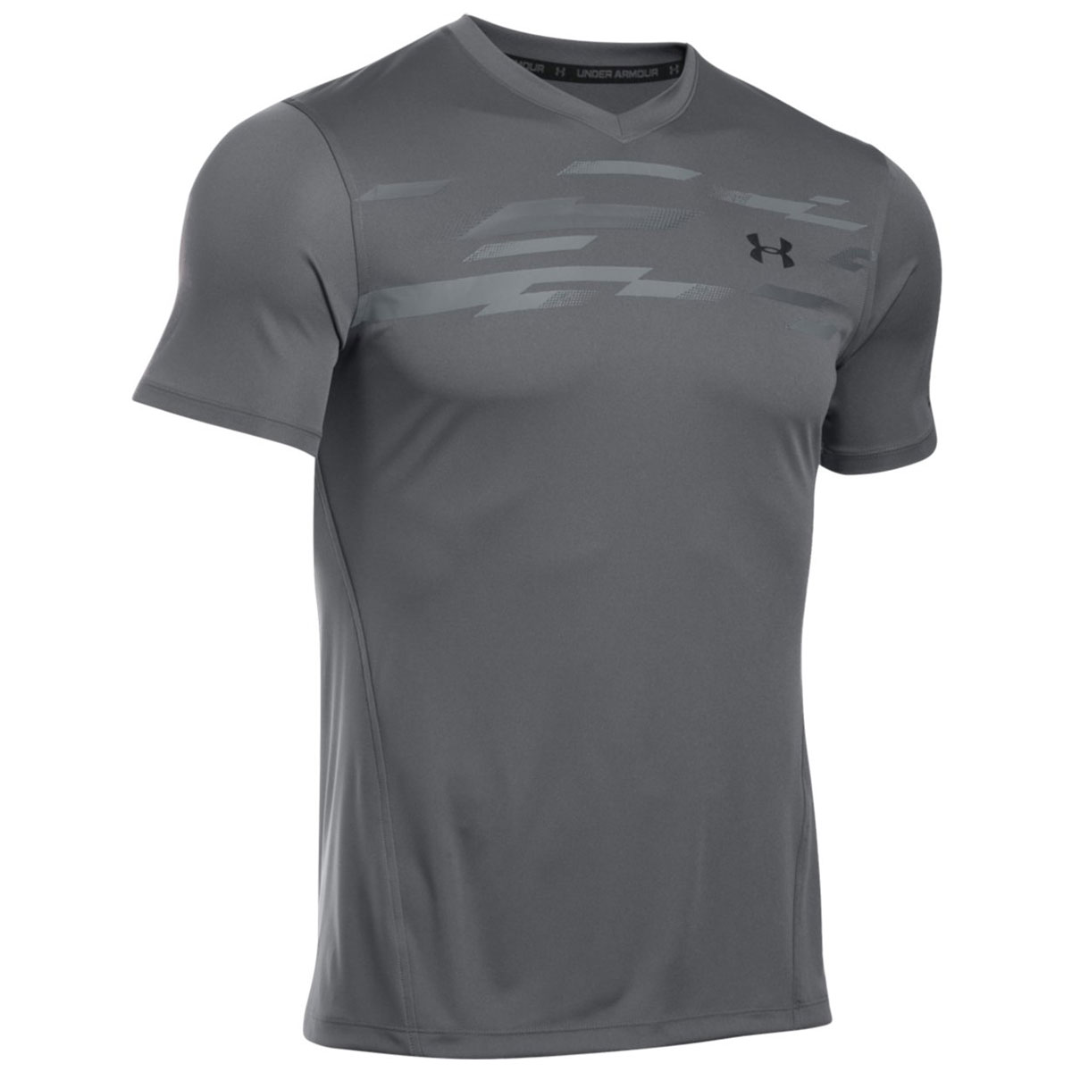 Under armour 2017 mens ua challenger graphic t shirt for Under armour fitted t shirt
