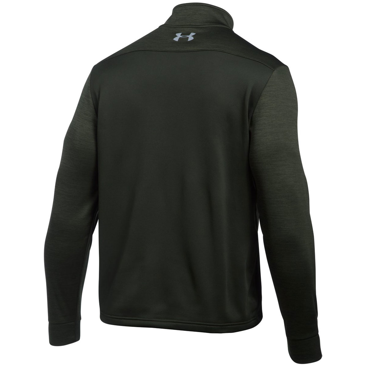 Under armour 2017 mens armour fleece icon 1 4 zip pullover for Flannel shirt under sweater
