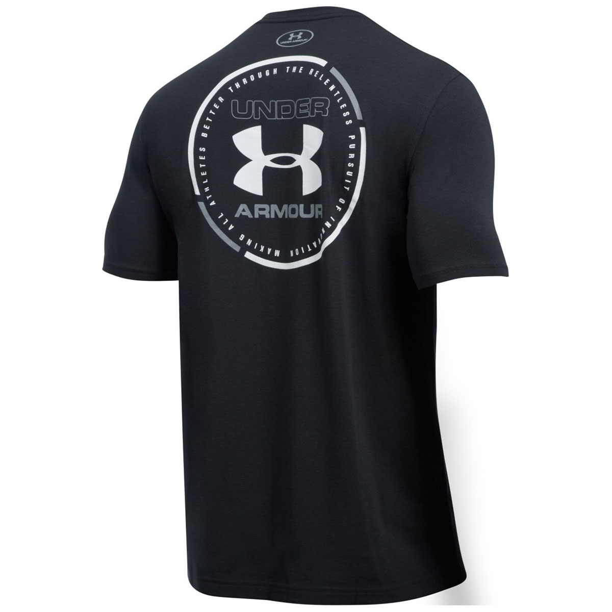 Under armour 2017 mens ua mantra short sleeve charged for Under armour lifting shirts