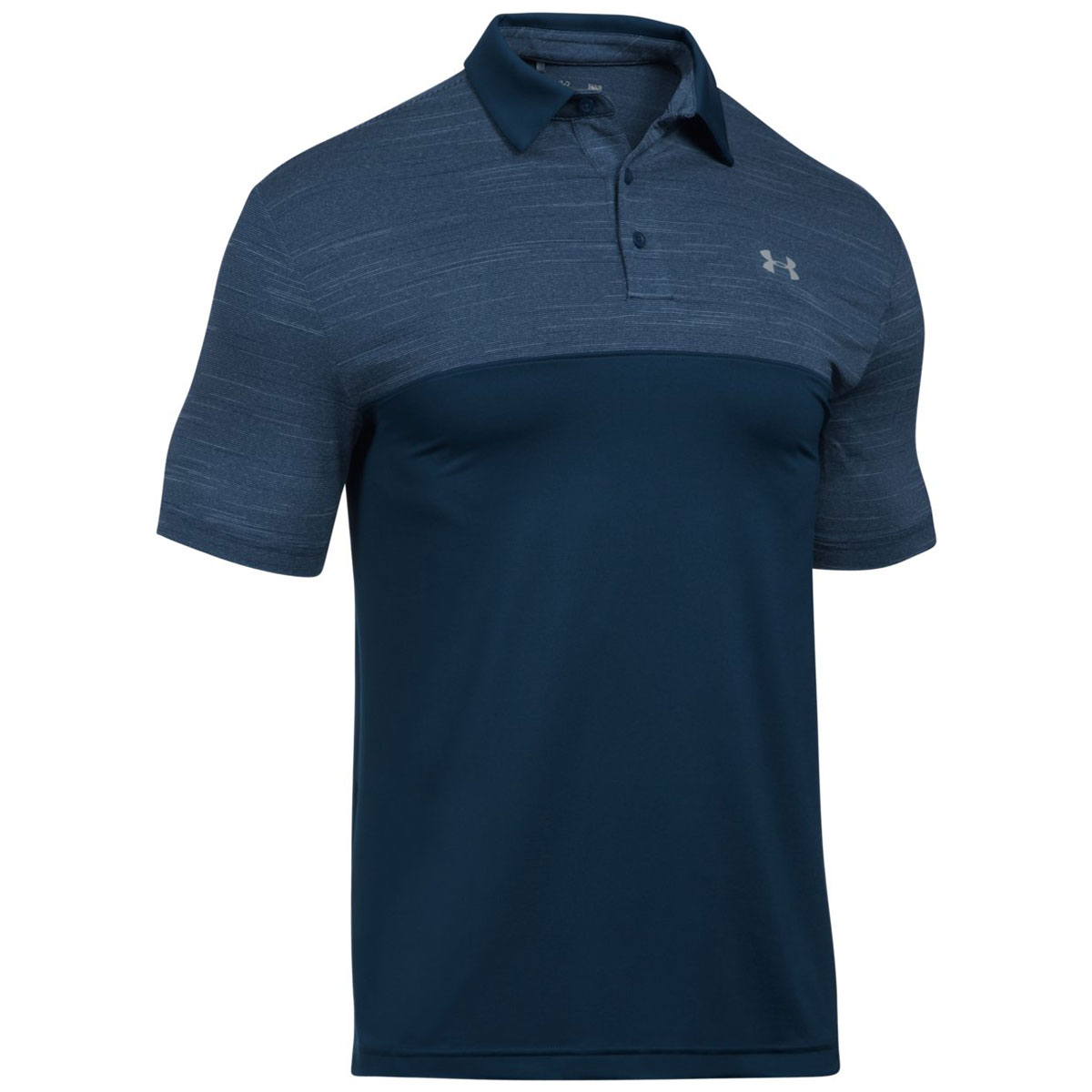 Under armour 2017 mens ua playoff blocked upf tech short for Under armour 3xl polo shirts
