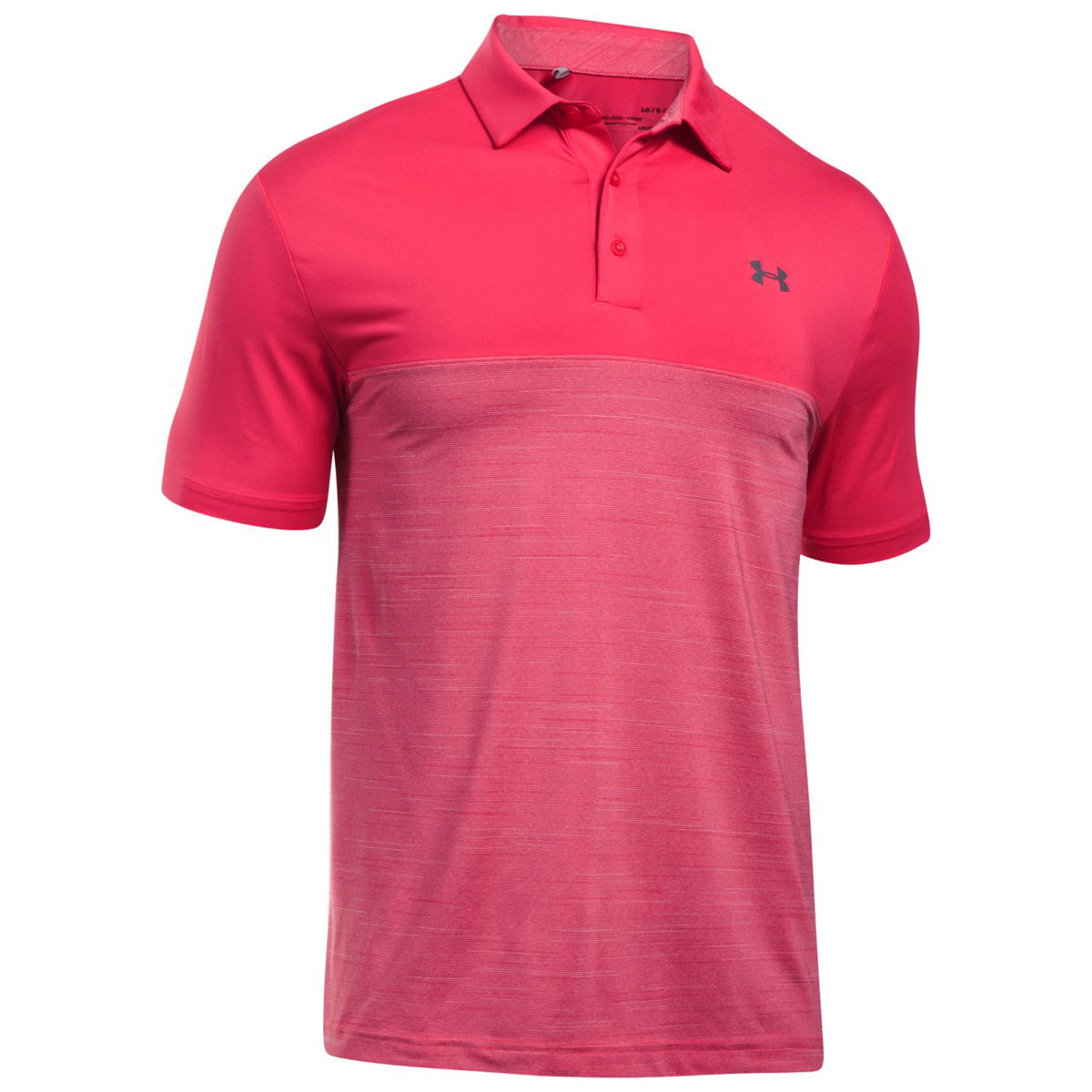 Under armour 2017 mens ua playoff blocked upf tech short for Sun protection golf shirts
