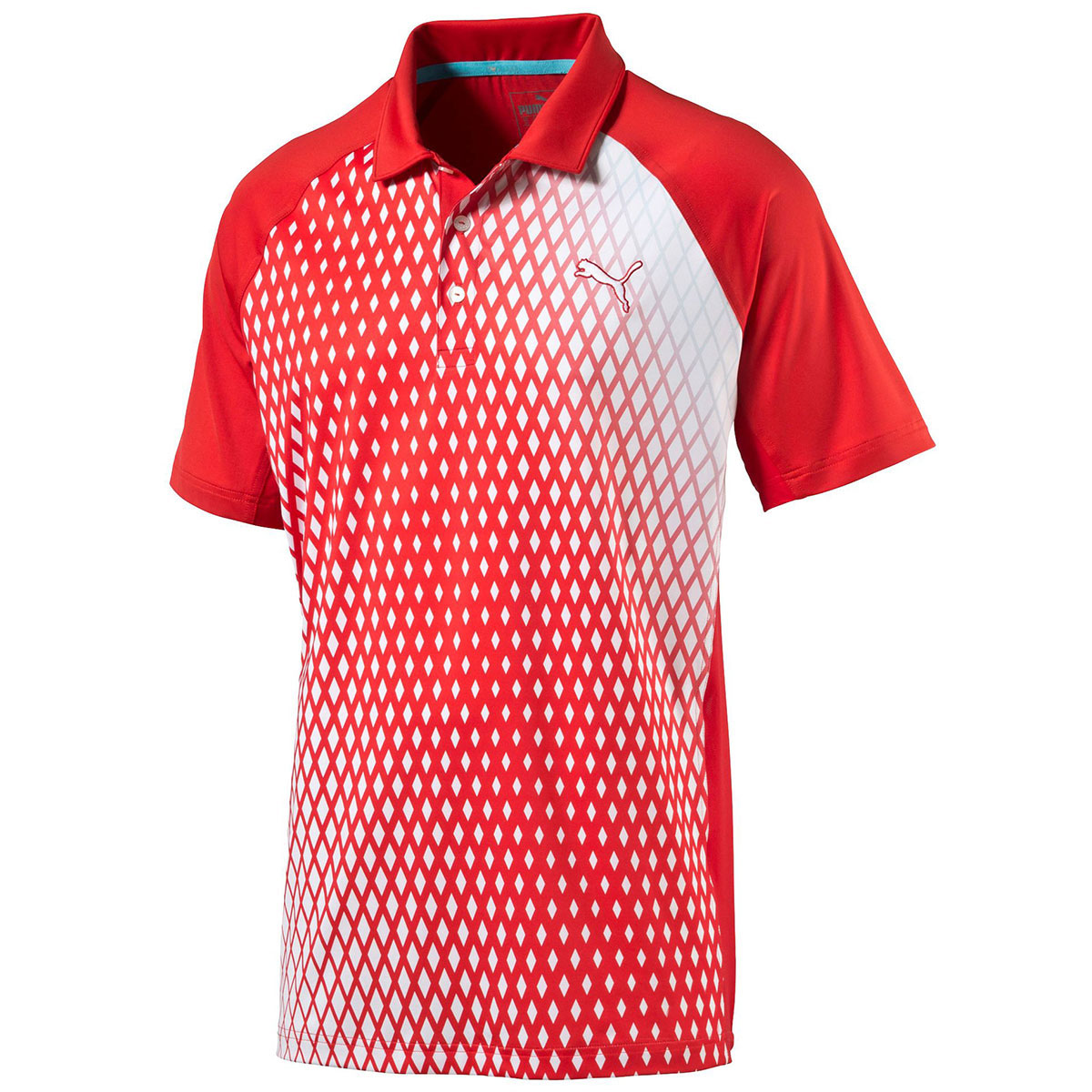 Puma golf 2016 mens players performance tech polo shirt for Mens puma golf shirts