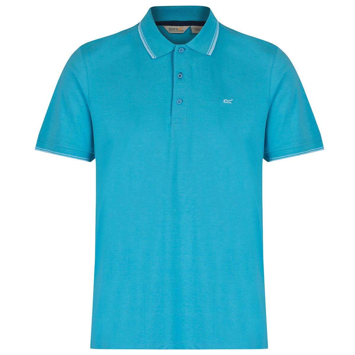 Regatta 2017 Mens Kaine Coolweave Dry Relaxed Fit Polo ...