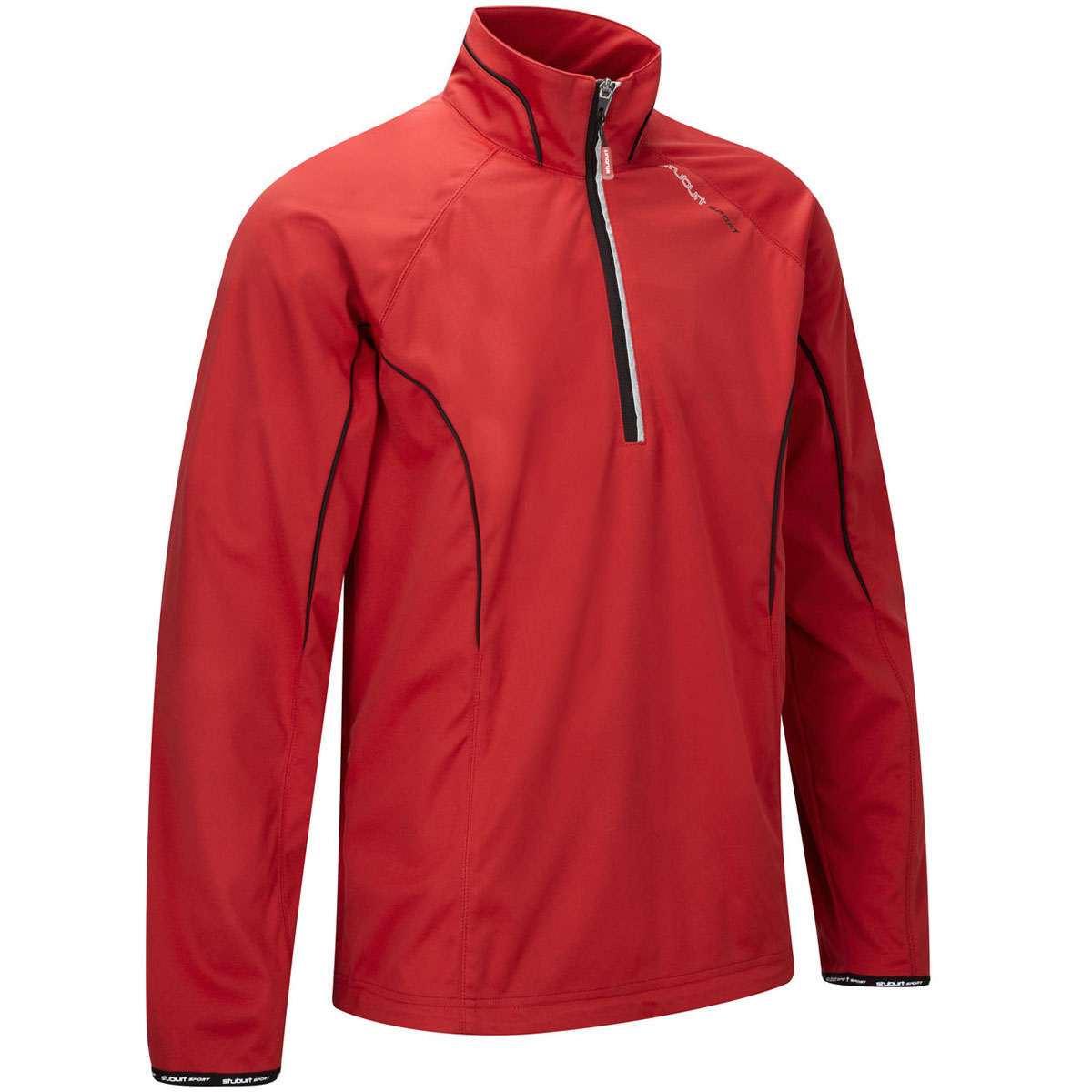 Stuburt-2014-Mens-Sport-1-2-Zip-LS-Water-Repellent-Golf-Windshirt-Jacket-Top