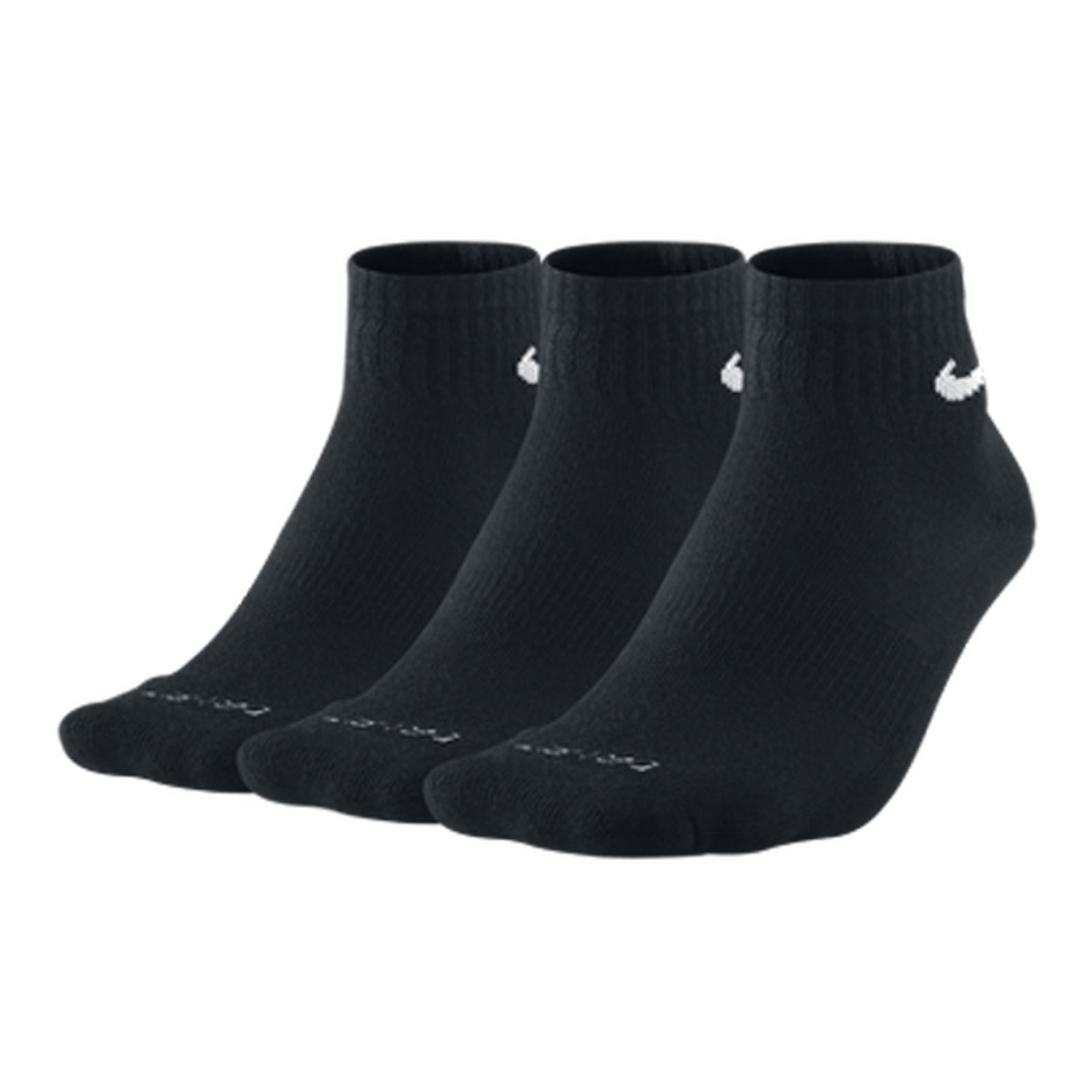 Nike-Golf-Mens-Dri-Fit-Quarter-Socks-Pack-of-3-Pairs-White-or-Black