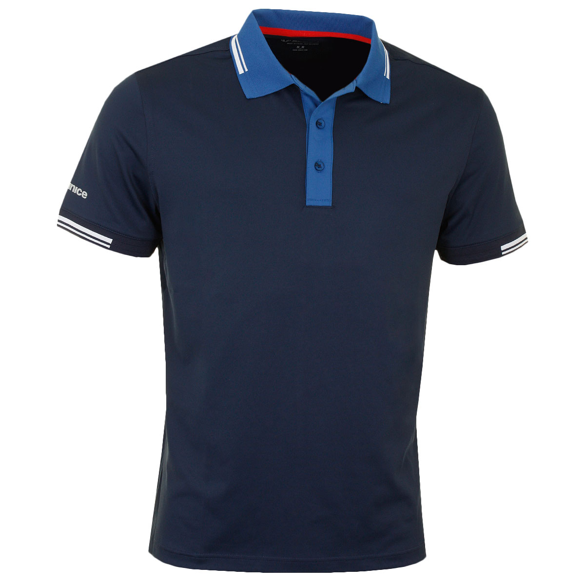 sunice 2017 mens rostock ss stretch cool plus golf polo
