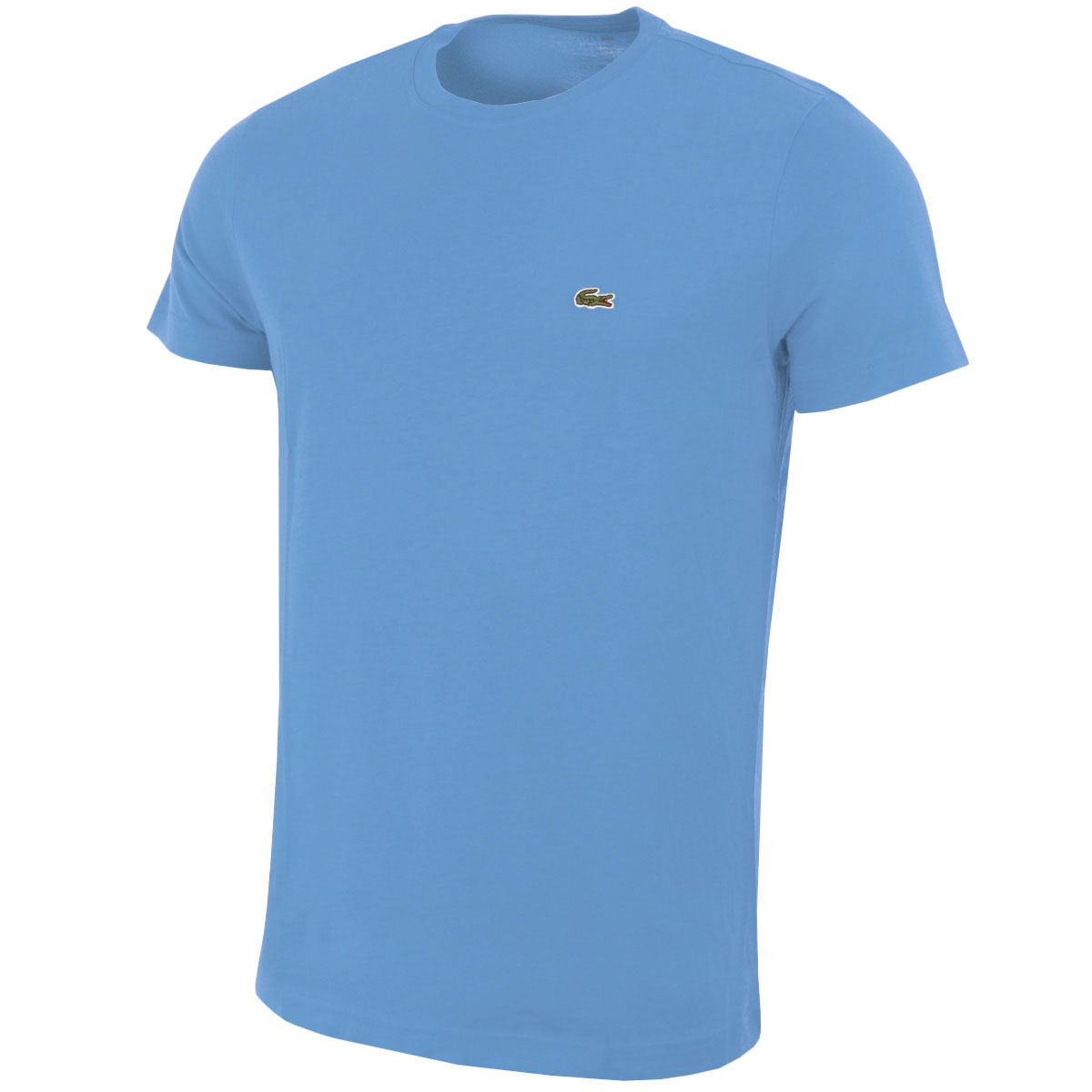 Lacoste 2016 Mens Short Sleeve Crew Neck T Shirt Pima