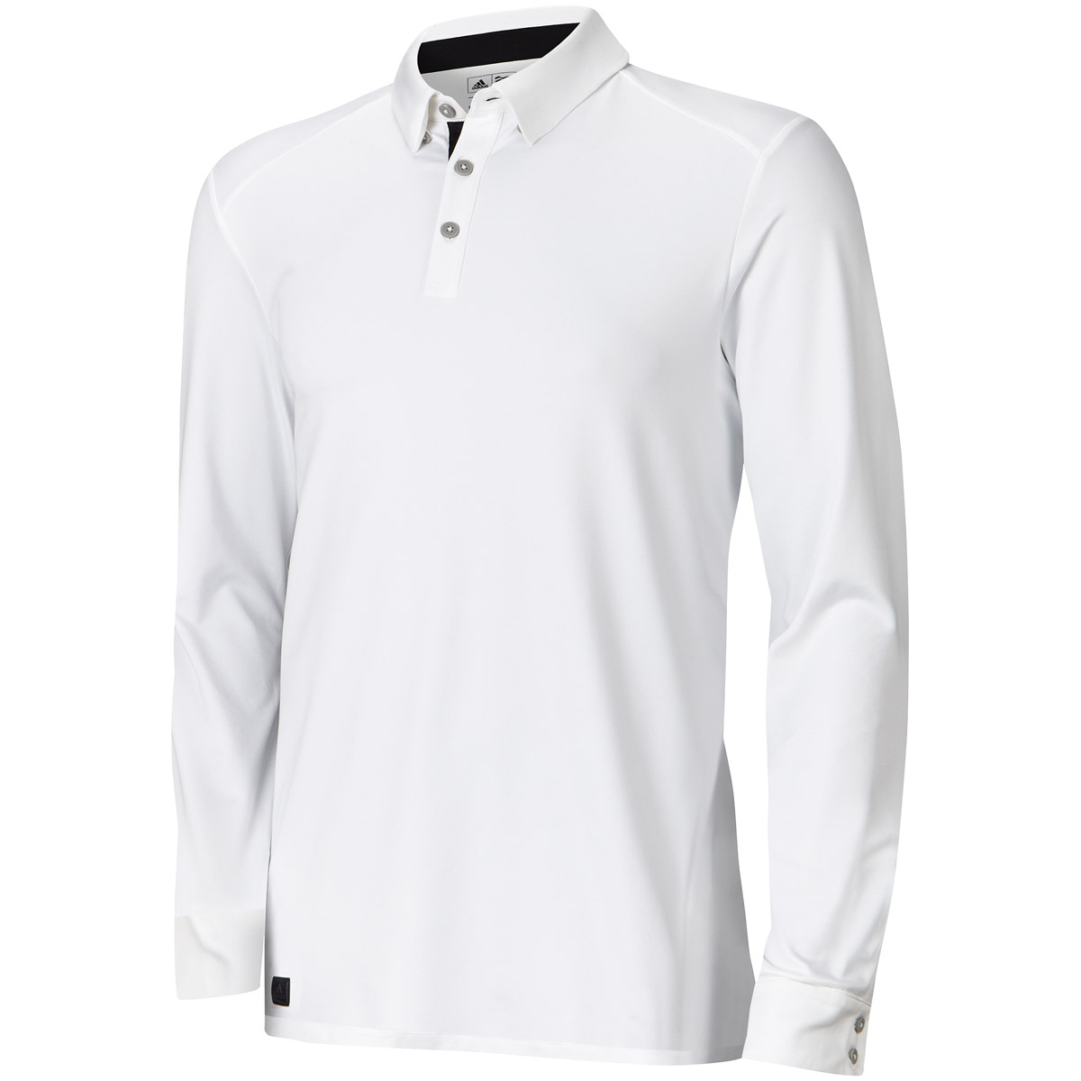 Adidas golf 2015 mens fall weight heather long sleeve polo for Polo golf shirts for men
