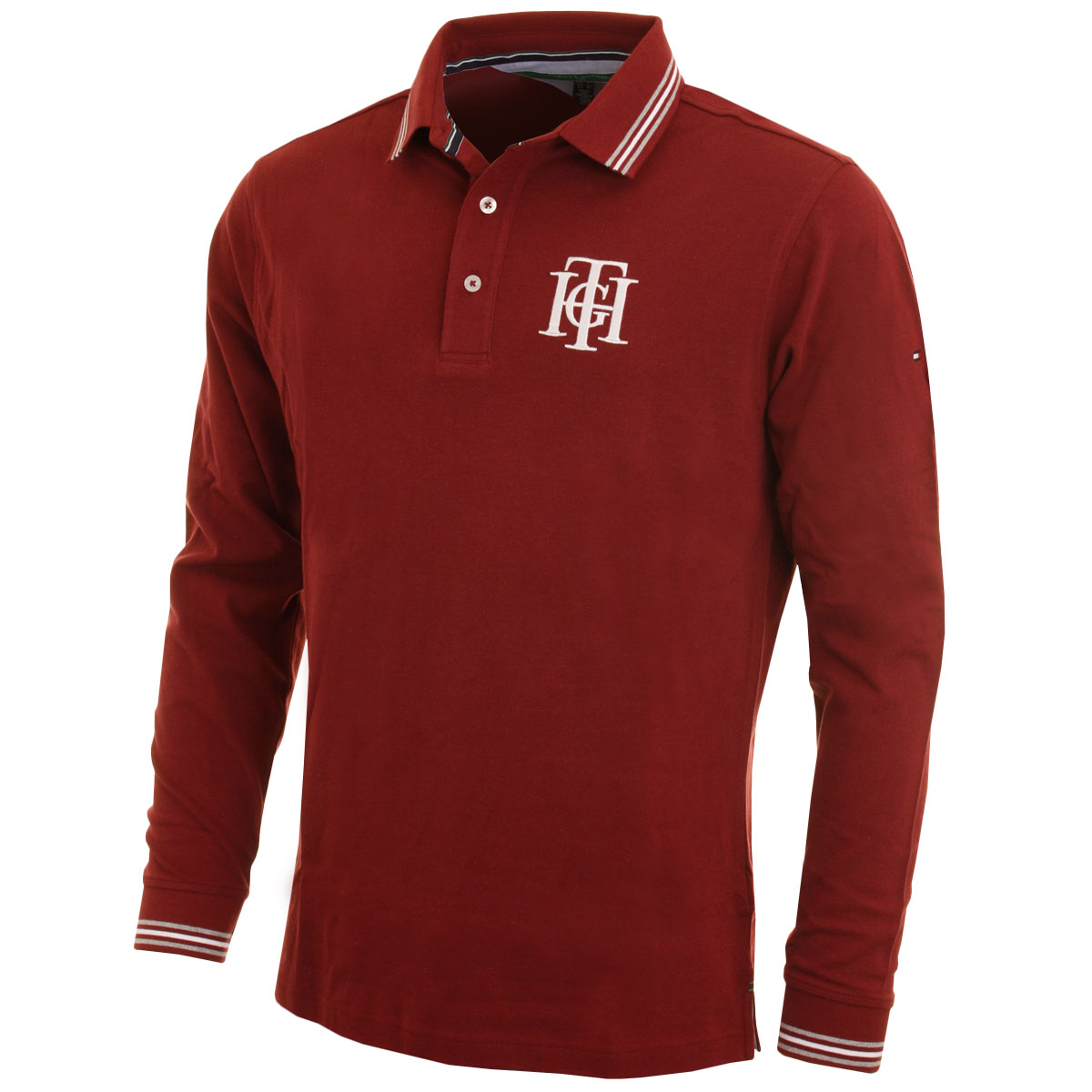 34 off rrp tommy hilfiger mens chester long sleeve for Long sleeve golf polo shirts