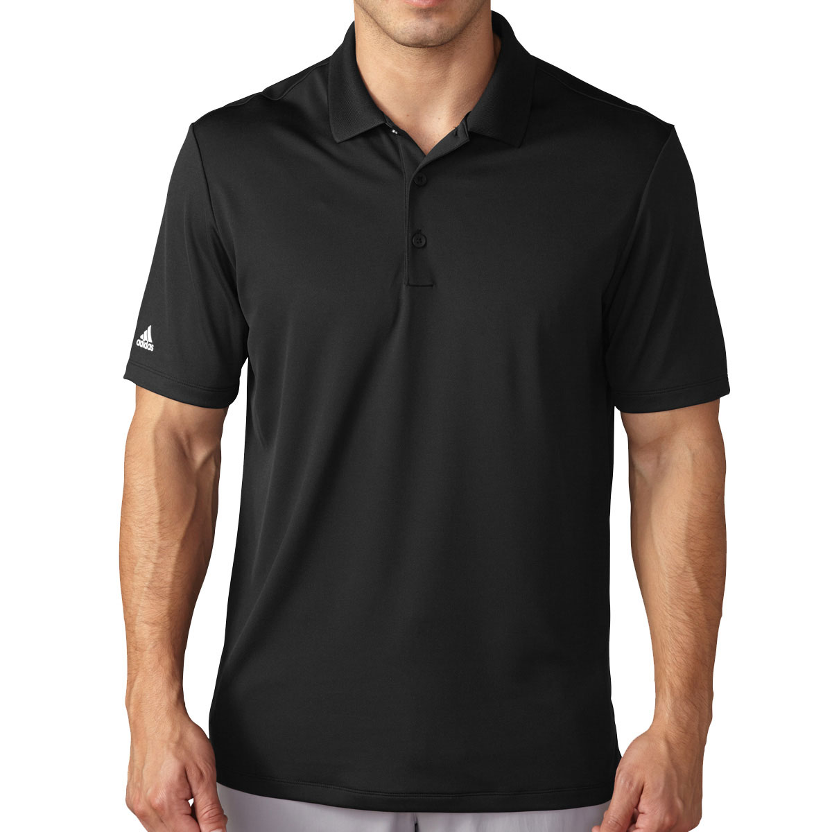 Adidas golf 2017 mens lightweight performance polo shirt for Mens golf polo shirts