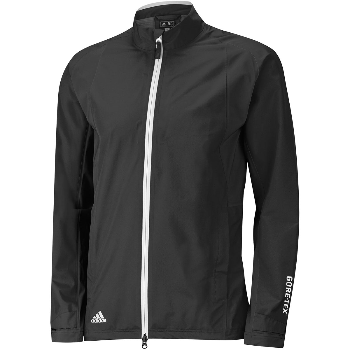 Adidas golf 2016 mens gore tex paclite full zip jacket for Adidas golf rain shirt