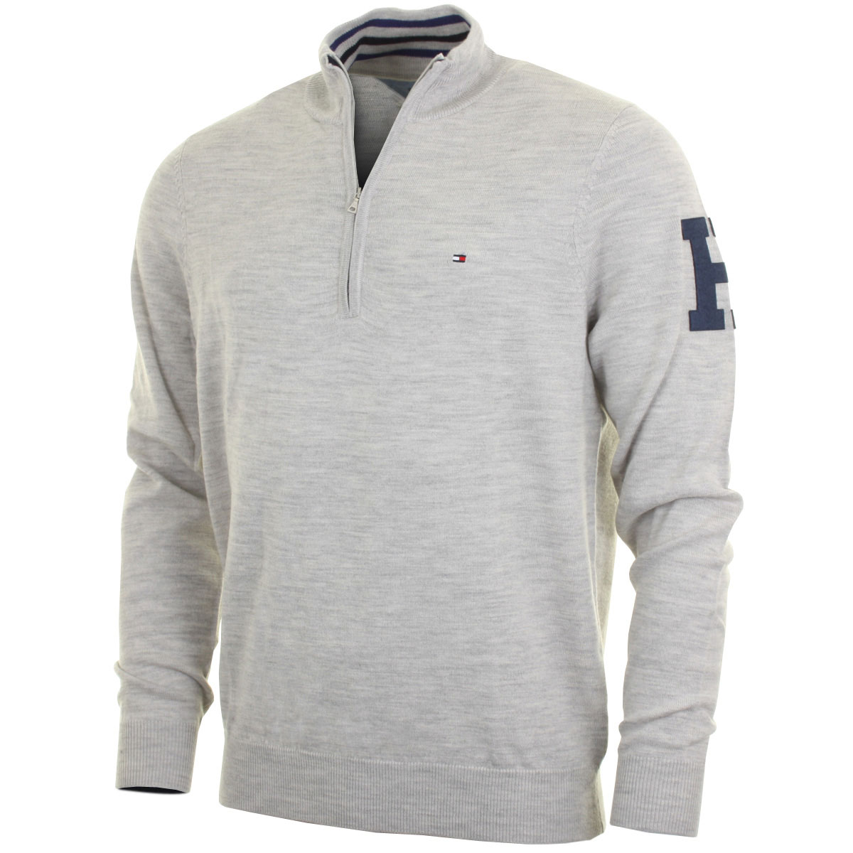 tommy hilfiger golf sweater sweater grey. Black Bedroom Furniture Sets. Home Design Ideas