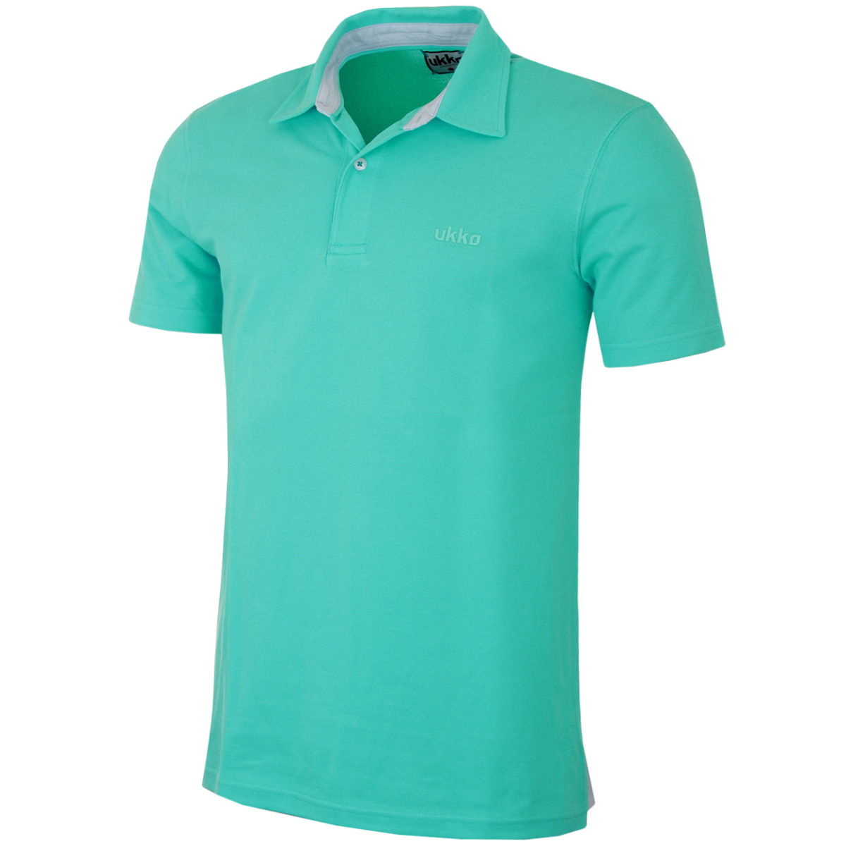 Ukko mens oxford cotton golf polo shirt classic fashion for Polo golf shirts for men